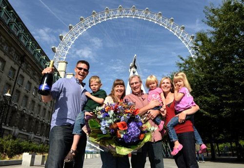 London Eye welcomes 50 millionth visitor