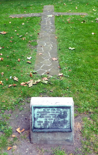 Metal thieves steal Blitz memorial plaque from Christ Church Garden