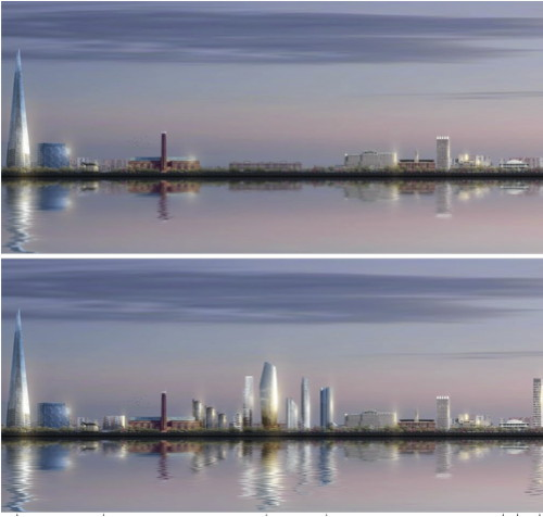 Revealed: the SE1 skyline in 2023