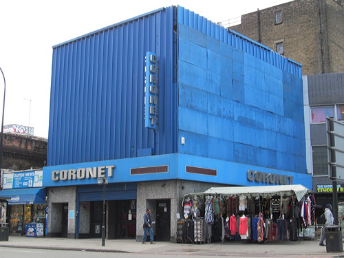 Coronet placed on list of theatres 'at risk'