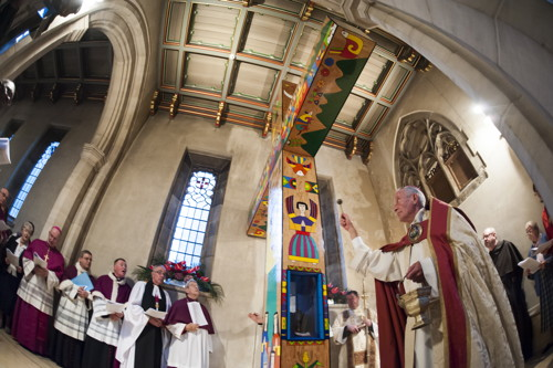 Oscar Romero Cross dedicated at St George's Cathedral
