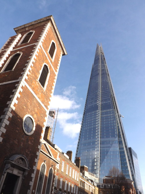 The Shard from St Thomas Street