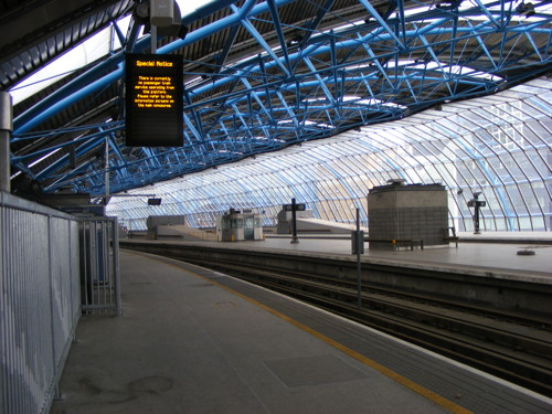 Platform 20 at Waterloo International