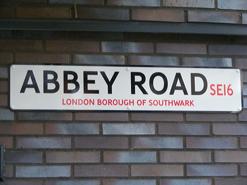Beatlemania in Bermondsey? Abbey Road sign installed by mistake