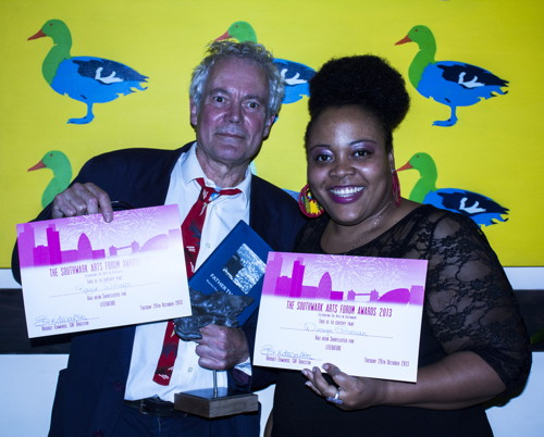 Leathermarket sculpture project wins Southwark arts award
