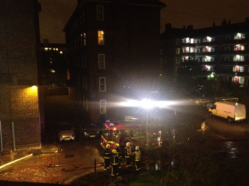 Diwali candles cause fire in Rockingham Estate flat