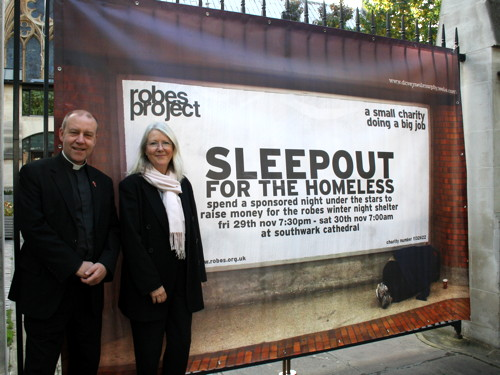 Choir With No Name to perform at sponsored sleep-out for winter shelter
