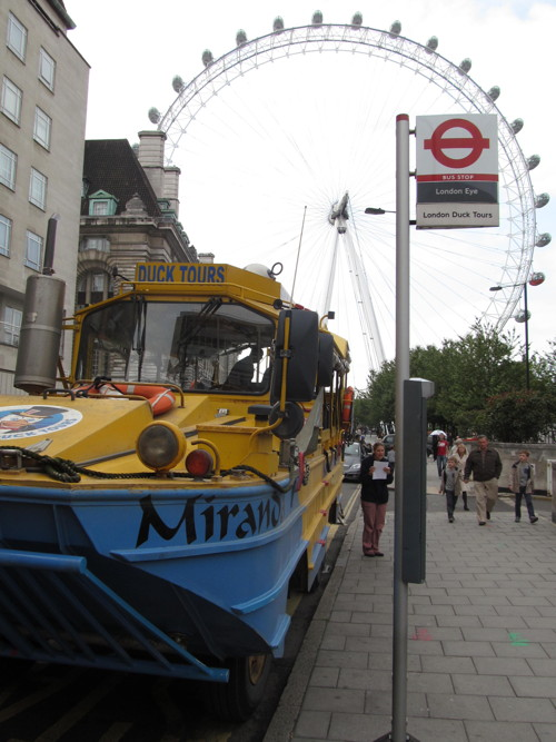 London Duck Tours: river ban is costing us �12,500 a day
