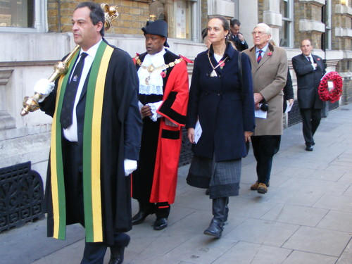 Remembrance Sunday in SE1: pictures and audio
