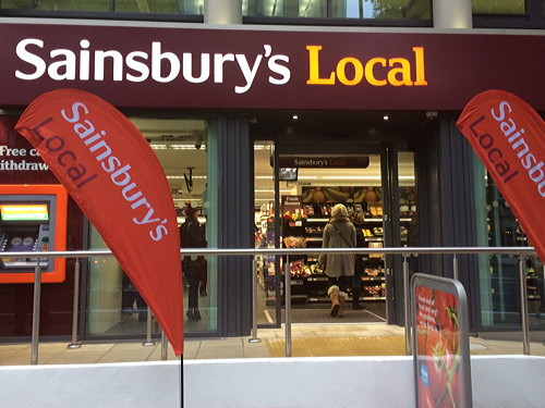 Sainsbury's Local opens in Blackfriars Road