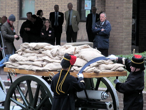 Soil from Flanders battlefields brought to London