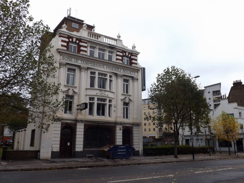 Former Sons of Temperance Friendly Society HQ gets listed status