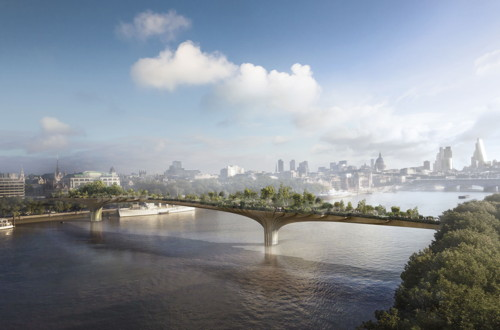 Garden Bridge: Government pledges £30 million