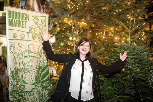 MasterChef winner switches on Borough Market Christmas lights