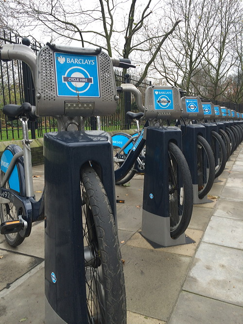 Four new cycle hire docking stations opened in SE1