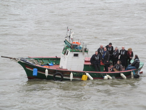 'Lampedusa boat' comes to Thames to highlight plight of migrants