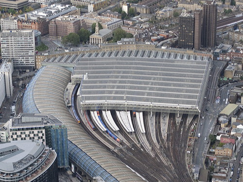 Almost half of the platforms at waterloo station will be shut for