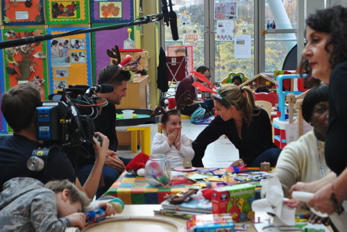 Strictly Come Dancing stars visit Evelina Children's Hospital