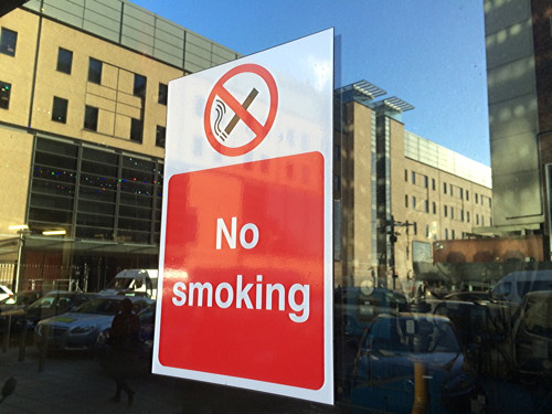 Guy's and St Thomas' staff banned from smoking on hospital sites