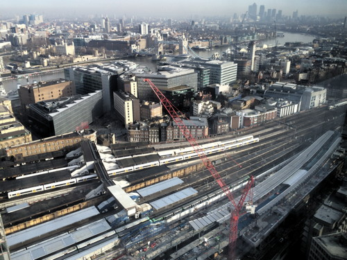 First new platforms of rebuilt London Bridge Station take shape
