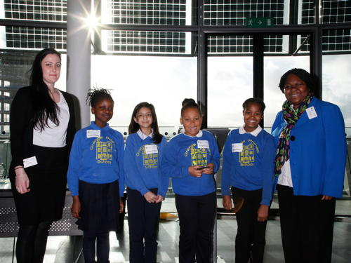SE1 kids receive awards for air quality awareness projects