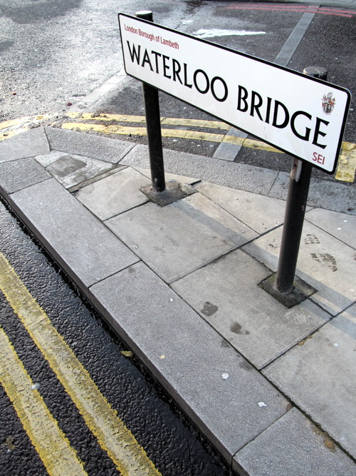 Waterloo Bridge parking could be banned