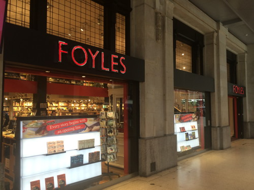 Foyles bookshop opens at Waterloo Station