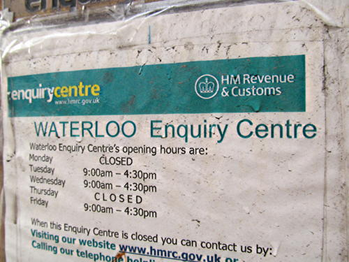 Stamford Street tax enquiry office to close