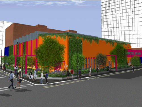 Zandra Rhodes and Joe Swift create Greenwood Theatre pocket park