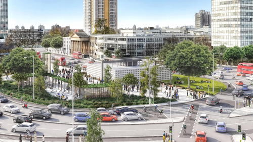 Elephant & Castle and Waterloo roundabouts to be removed
