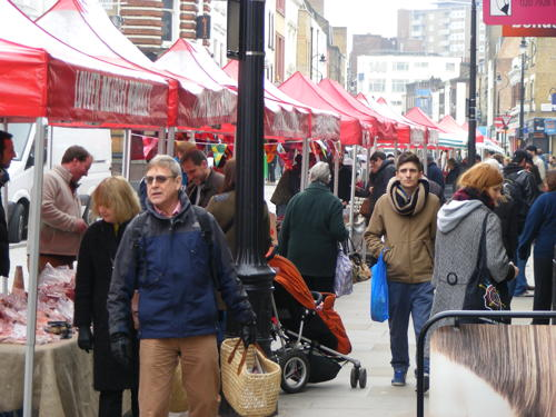 Lower Marsh's new Saturday market launches