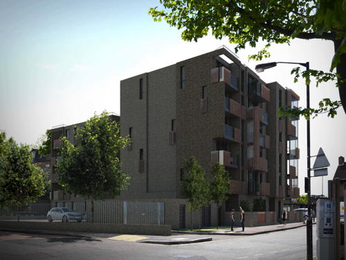 38 homes planned for former Esso garage in Old Kent Road