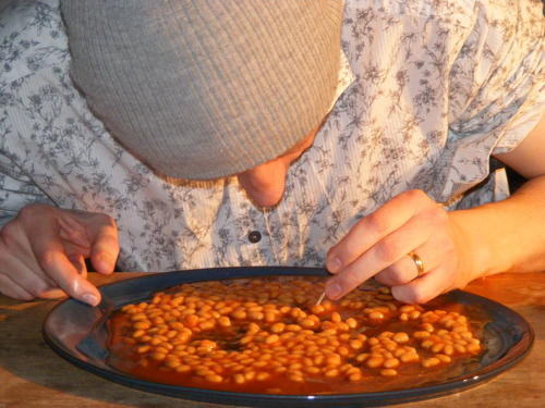 New world record set in Bermondsey ... for eating baked beans