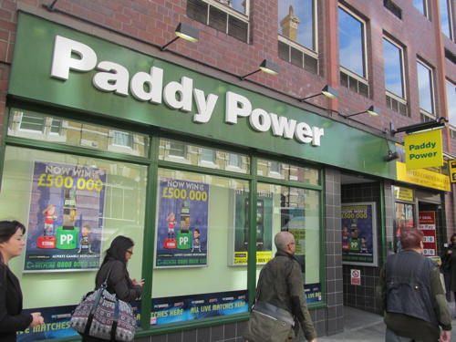 Paddy Power threatens legal challenge to betting shop clampdown