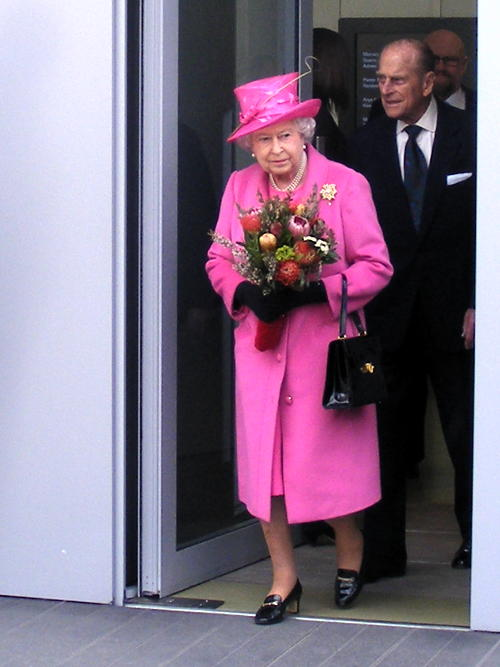 Queen opens Rambert dance company HQ on the South Bank