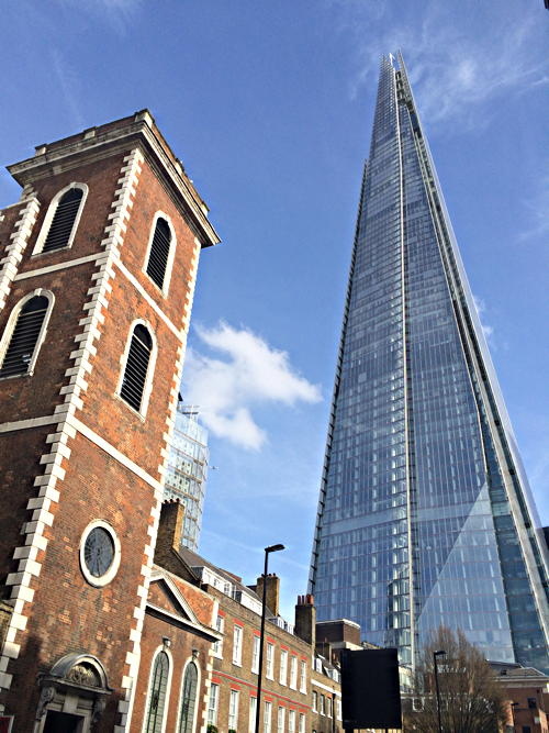Shard is Londoners' second-favourite skyscraper