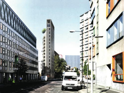 16-storey Southwark Street 'Flatiron Building' tower approved