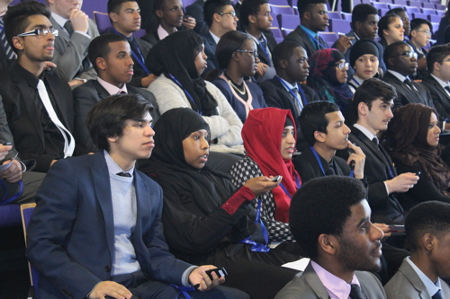American ambassador asks SE1 sixth-formers what they think of USA