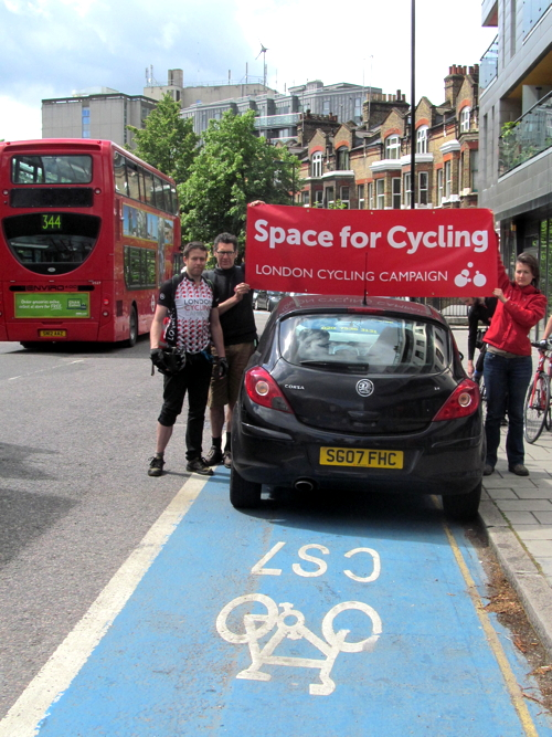 Campaigners call for 'Space for Cycling' as local elections approach