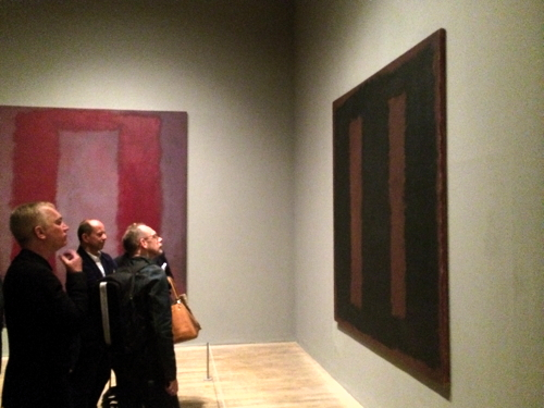 Vandalised Rothko painting goes back on show at Tate Modern