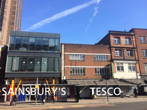 Tesco Express to open next to Sainsbury's Local in Waterloo Road