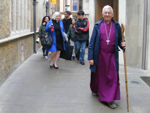 Bishop of Woolwich on 46-mile walk round three boroughs