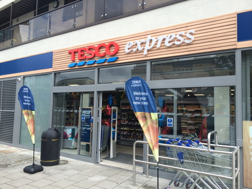 Tesco Express opens in The Cut