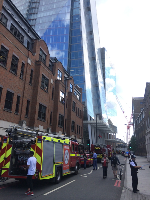 Hundreds evacuated from Shard after basement fire alert