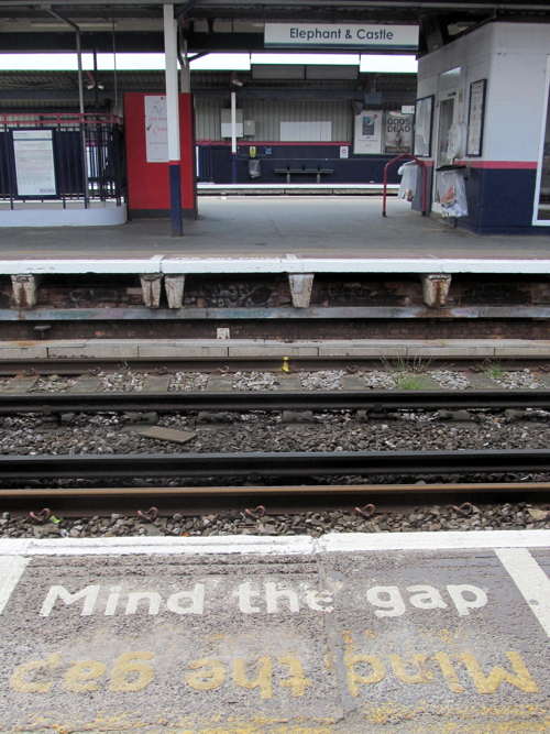 Railway platform gap to be reduced at Elephant & Castle Station