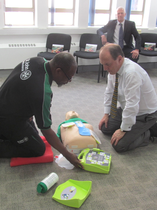 New first aid training centre opened in Borough High Street