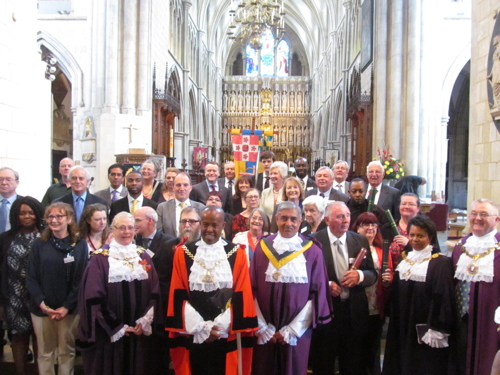 2014 Southwark Civic Awards presented at Southwark Cathedral