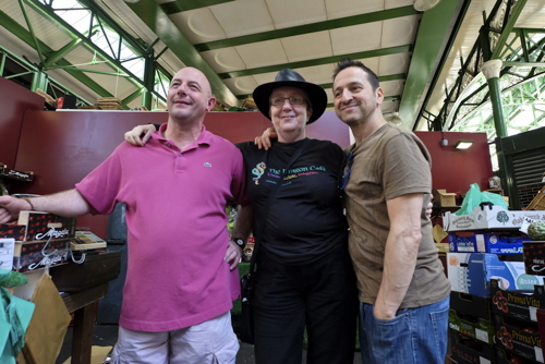 Borough Market traders donate unsold produce to Dragon Cafe