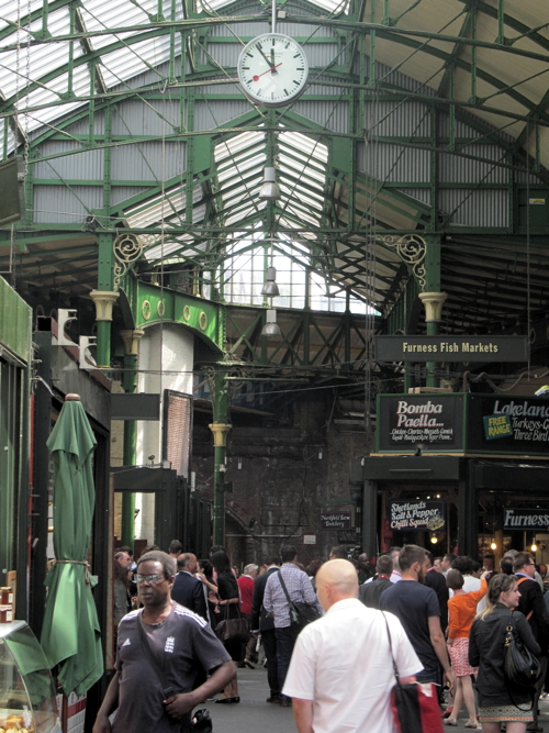 Swiss Railway Clock installed at Borough Market as Olympic legacy
