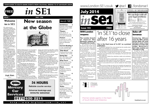 Monthly printed what's on guide 'in SE1' to cease publication